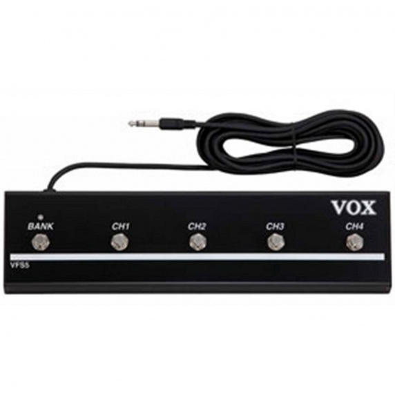 VOX VFS5 Foot Controller - 5 Way Footswitch