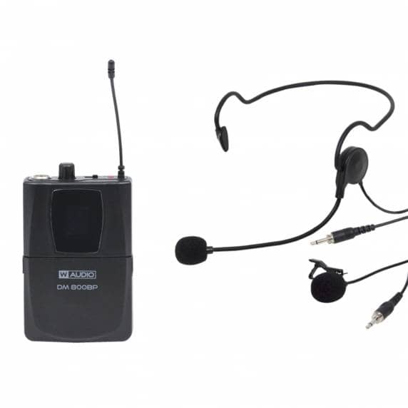 W Audio DM 800BP Add On Beltpack Kit (863.0Mhz-865.0Mhz)