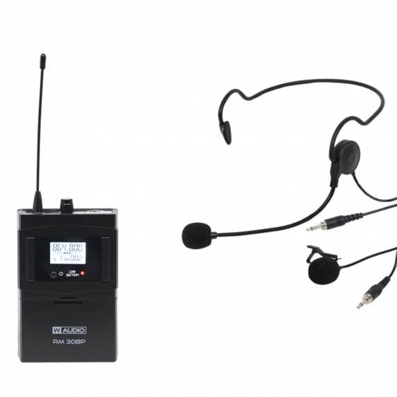 W Audio RM 30BP UHF Beltpack Add On Kit (864.8Mhz)