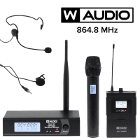 W Audio W-Audio RM30 UHF Wireless Microphone KIT (864.8MHz)