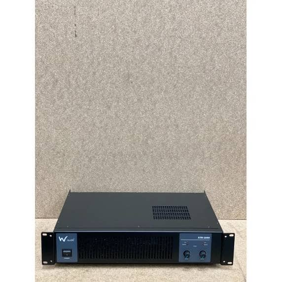 W Audio XTR 1000 Power Amplifier - B Stock