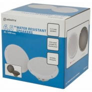 "Water Resistant Speakers 100w - 6.5"" Ceiling or Wall Mountable (White) - B STOCK"
