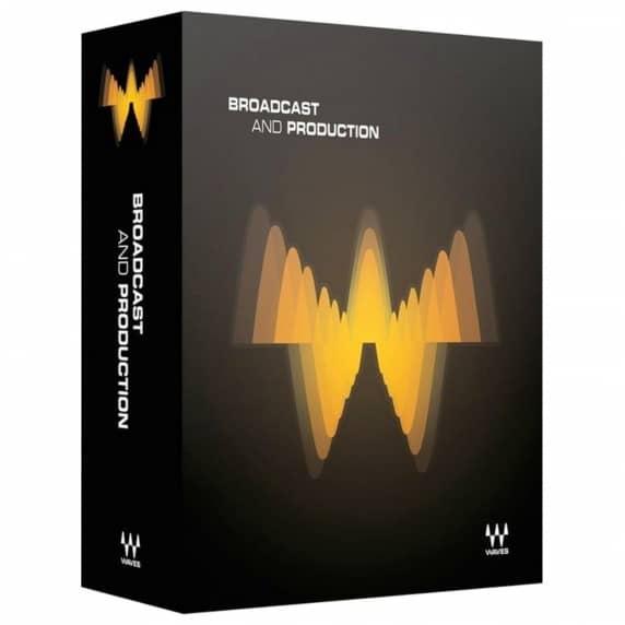 Waves Broadcast & Production Plug-in Bundle (Serial Download)