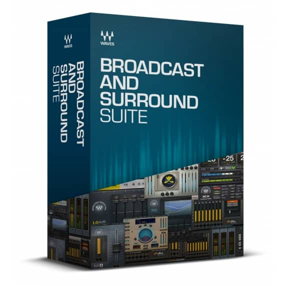 Waves Broadcast & Surround Plug-in Suite (Serial Download)