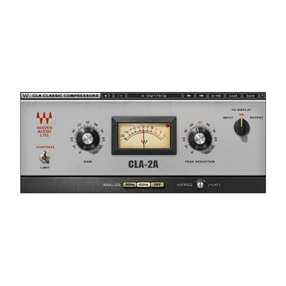 Waves CLA-2A Compressor / Limiter Plug-in (Serial Download)