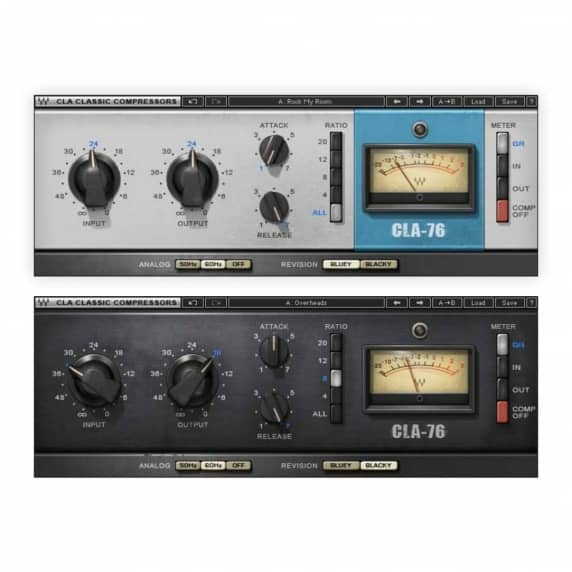 Waves CLA-76 Compressor / Limiter Plug-in (Serial Download)