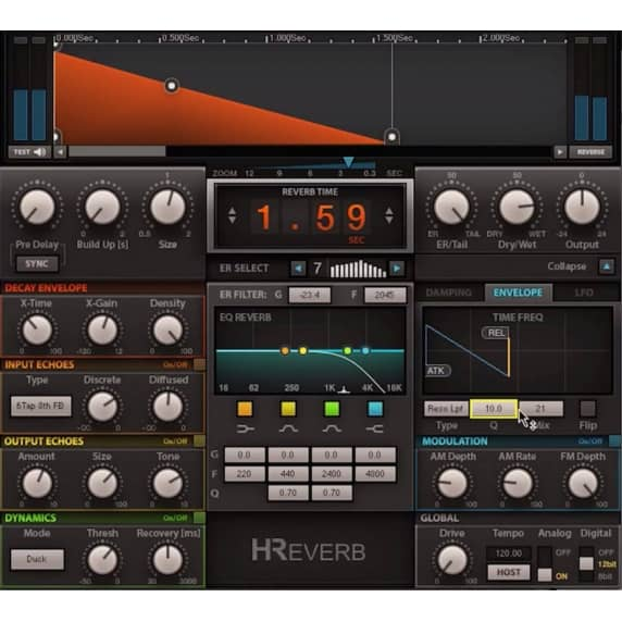 Waves H-Reverb Hybrid Reverb Plug-In (Serial Download)