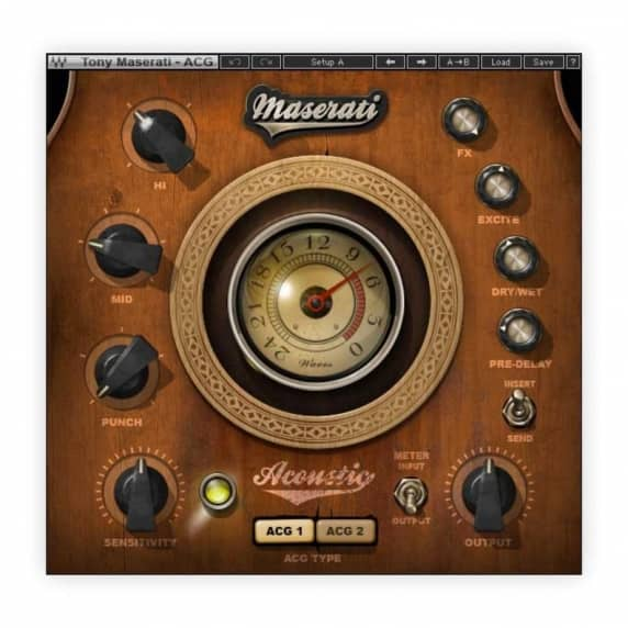 Waves Maserati ACG Acoustic Guitar Plug-in (Serial Download)