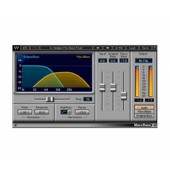 Waves MaxxBass Stereo Imaging Plug-in (Serial Download)