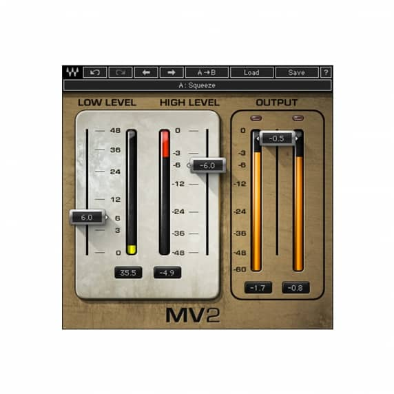 Waves MV2 Compressor Plugin (Serial Download)