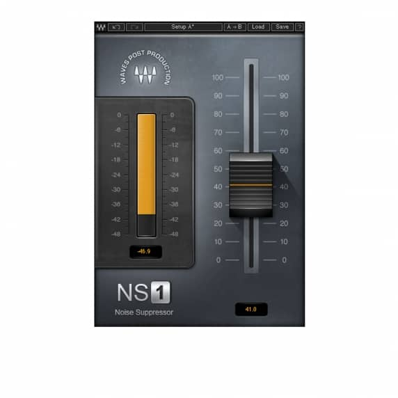 Waves NS1 Noise Suppressor (Serial Download)