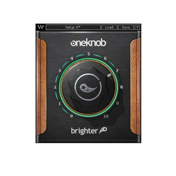 Waves OneKnob Brighter Plugin (Serial Download)