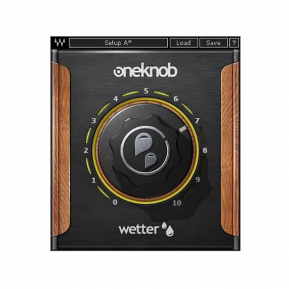 Waves OneKnob Wetter Plugin (Serial Download)