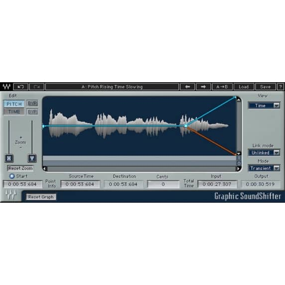 Waves SoundShifter - Pitch and Time-shifting Plugin (Serial Download)