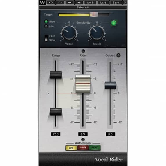 Waves Vocal Rider - Automatic Volume Rider (Serial Download)