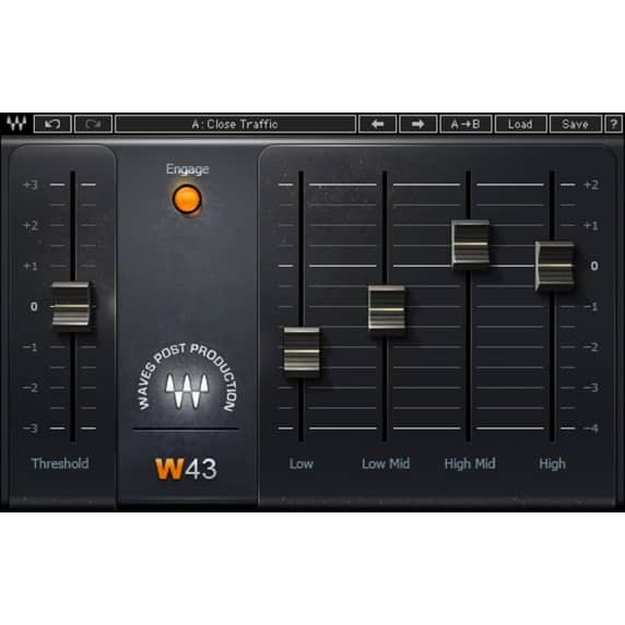 Waves W43 - Noise Reduction Plug-in (Serial Download)