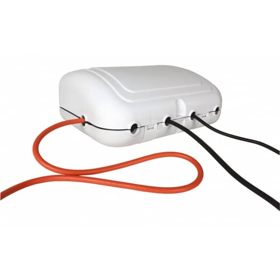 Weatherproof IP64 Outdoor 4-Gang 2m Extension Lead