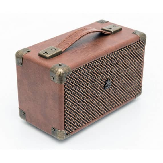Westwood Mini GPO Retro Bluetooth Speaker - Brown