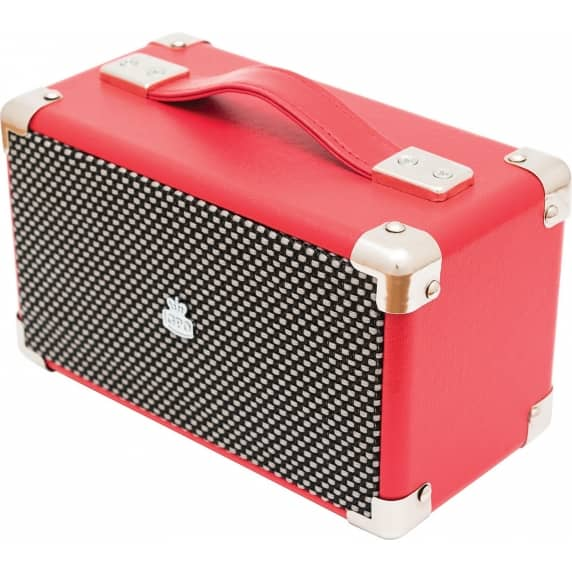 Westwood Mini GPO Retro Bluetooth Speaker - Red