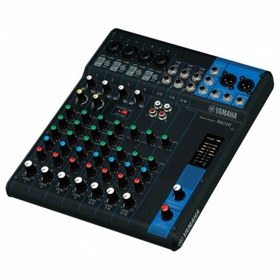 Yamaha MG10 10-Channel Analogue Mixer