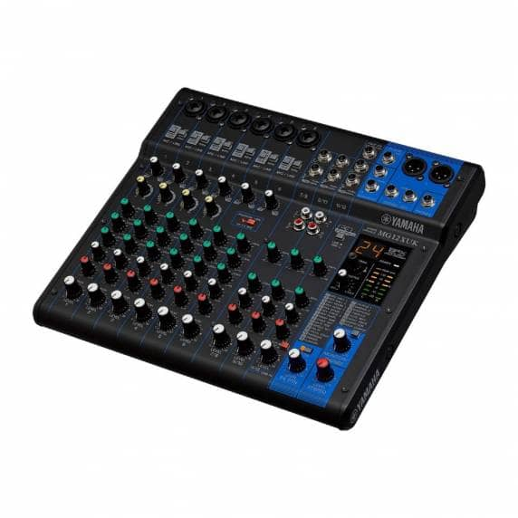 Yamaha MG12XUK 12-Channel Analogue Mixer