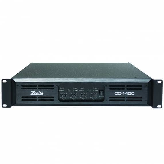 Zenith CD 4400 4x400Wrms Power Amplifier, 4-8Ohms