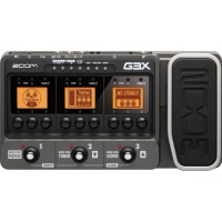 Zoom G3X Guitar Multi Effects Pedal and USB Audio Interface