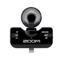 Zoom IQ5 Black iPhone 5 Stereo Microphone